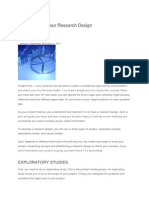 How to Focus Your Research Design