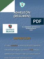 Resumen de Adhesion