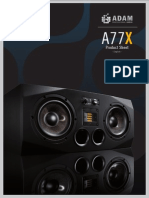Adam A77x manual