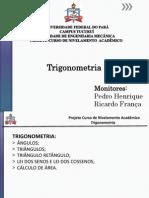 Slide Trigonometria1dia