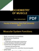 Biochemistry of Muscle