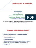 Agriculture development in Telangana.ppt