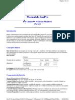 Gilmer O. Manzano Mendoza - Manual de FoxPro