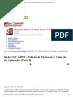 03_Redes IEC-61850 – Estudo de Protocolo e Exemplo de Aplicação (Parte I)