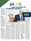 Vācija- jauna kontinentāla vara vai atžirdzis slimnieks?