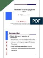 02_Rainwater Harvesting System Rev HW01