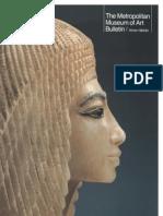 Egyptian Art the Metropolitan Museum of Art Bulletin v 41 No 3 Winter 1983 1984
