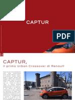 Captur, il primo Urban Crossover di Renault
