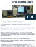 ir  infrared spectroscopy