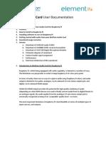 Wolfson Raspberry Pi Soundcard Manual (.IMG Install) V1.1