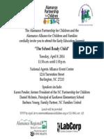 The School Ready Child  Invitation