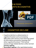 nutrients  food constituents in cognitive decline