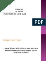 Kumpulan 1 Waqaf Ikhtiari