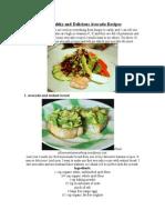 10 Healthy and Delicious Avocado Recipes
