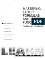 Mastering Excel Functions