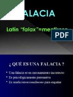 LÓGICA - FALACIAS