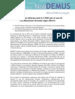Estado Peruano Informa Ante La CIDH Que El Caso de Esterilizaciones Forzadas Sigue Abierto