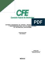 Especificacion Cfe v6700-55_ Siscopromm