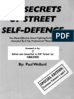 The Secrets of Street Self Defence-Wellard