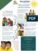 La Escuela Los Algarrobos Newsletter March 2014 FINAL