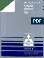 1991 ServiceManual Mitsubishi 3000GT