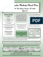 April Newsletter Inserts