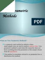 What Are Non Parametric Methods!