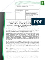 Doc. 521 EXENCIÓN IVA EXPORTACIÓN SERVICIOS APLICA SI EL SERVICIO ES UTILIZADO EXCLUSIVAMENTE EN EL EXTERIOR.pdf