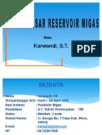 1. Dasar-Dasar Reservoir