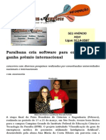 Paraibana cria software para enfermeiros e ganha prêmio internacional