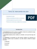 Tema 10_Intercambio de Calor