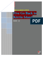Famous Five 22 Five Go Back to Kirrin Island