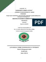 Commodity DCOMMODITY DERIVATIVES project.erivatives Project