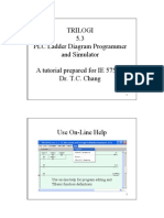 TRILOGI 5.3 PLC Ladder Diagram Programmer and Simulator a Tutorial