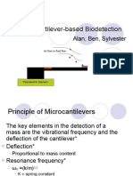 Micro Cantilever Bio Detection
