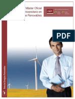 Master Universitario Oficial en Energias Renovables