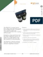 OSLRF-01 - Laser Rangefinder Manual - Rev 0