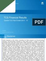 TCS Analysts Q4 13