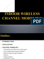 Indoor Wireless channel modeling