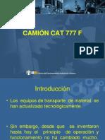 CAMIÓN minero CAT 777 F