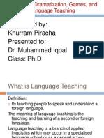 Drama in Language Teaching