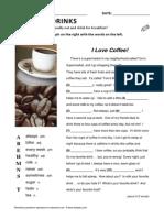 11 Esl Topics Bonus Food Drinks Lesson
