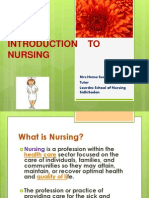 Introduction to Nursing