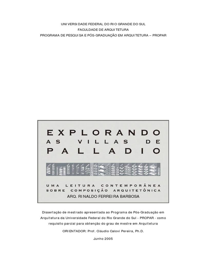Princpios palladianos fandeluxe Images