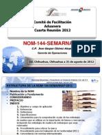 Nom 144 Semarnat 2012 PDF