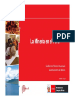 La minería en el Perú (2014)
