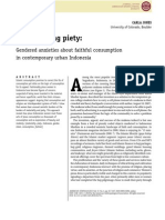 Materializing Piety_gendered Anxieties About Faithful Consumption in Contemporary Urban Indonesia