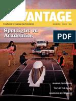 ANSYS Advantage V8 I1 - 2014