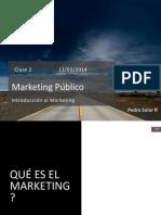 Clase 2 Curso Marketing Publico 2014