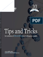 Tips &Tricks for Isolation of DNA and RNA From Challenging Samples